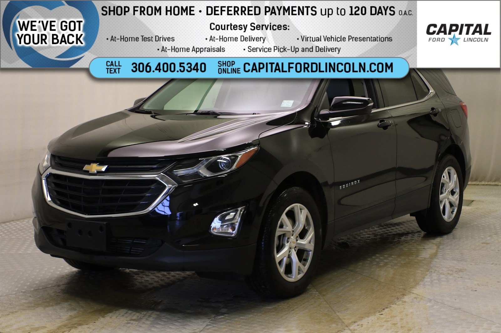 Certified Pre-Owned 2019 Chevrolet Equinox LT AWD