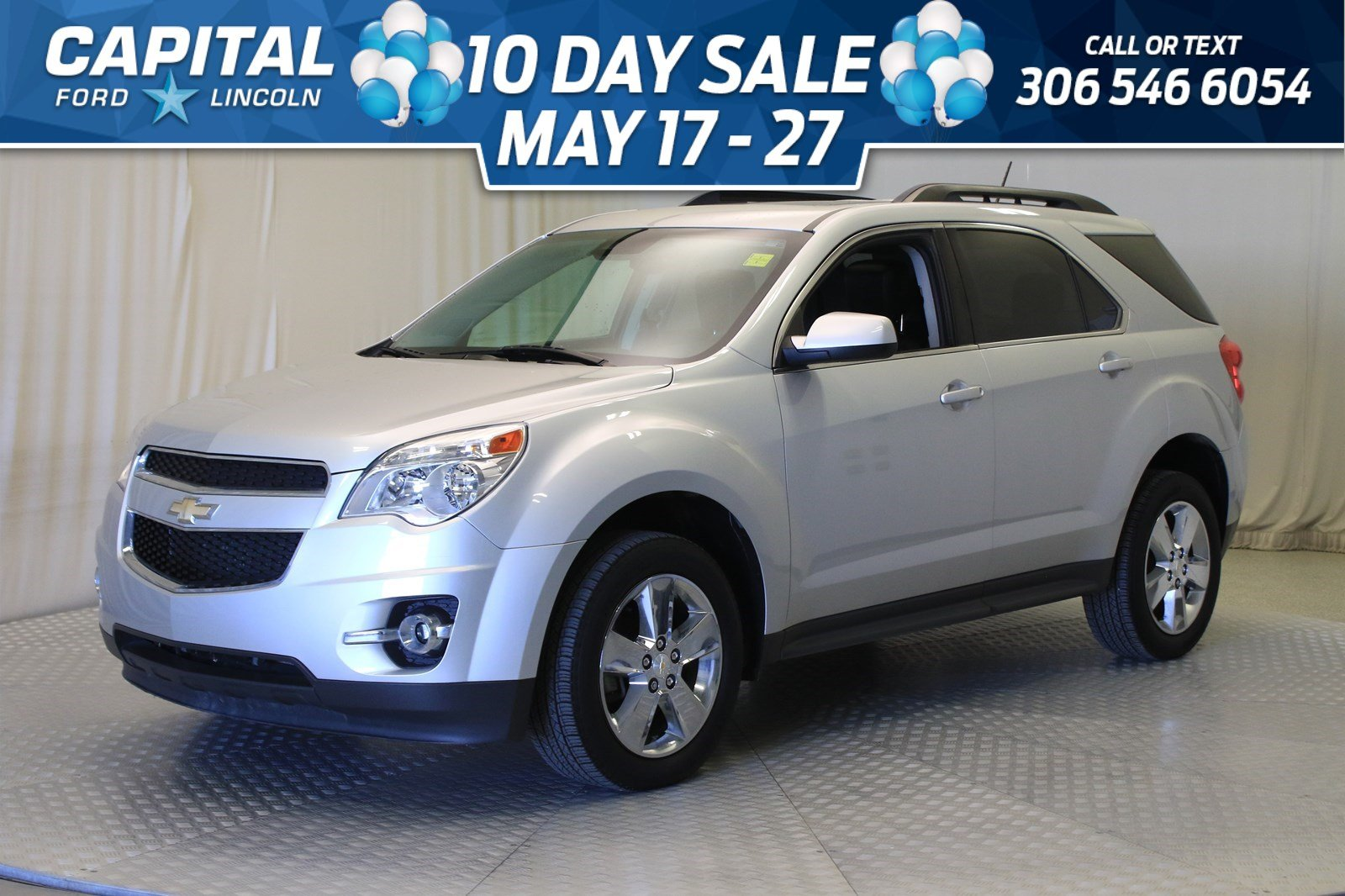 Pre-Owned 2015 Chevrolet Equinox LT AWD | Leather | Sunroof |