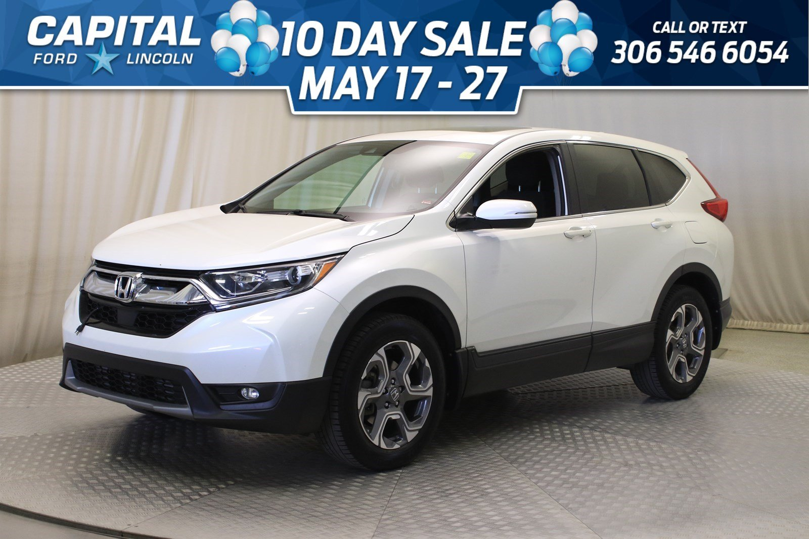 Pre-Owned 2017 Honda CR-V EX AWD | Sunroof |