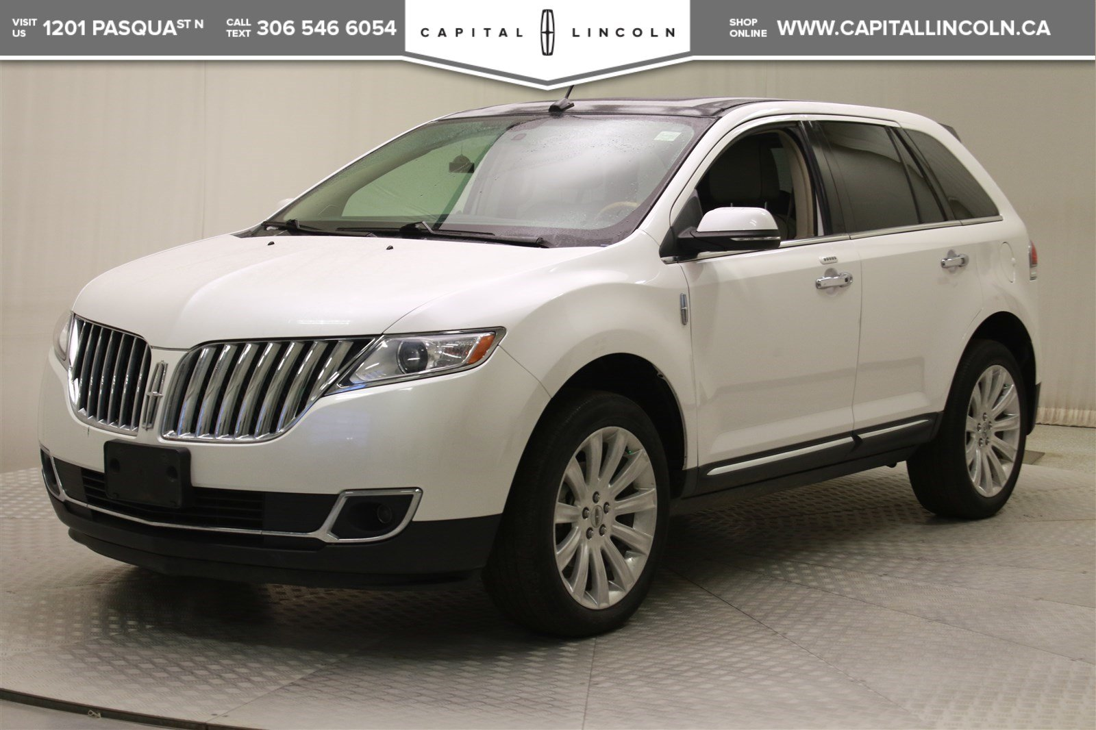 Certified Pre-Owned 2014 Lincoln MKX AWD *Navigation-Heated Seats-Remote Start*