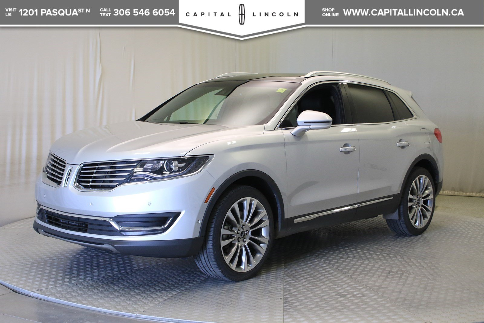 Lincoln Suv 2018 >> Pre Owned 2018 Lincoln Mkx Reserve Awd With Navigation Awd Stock U249a