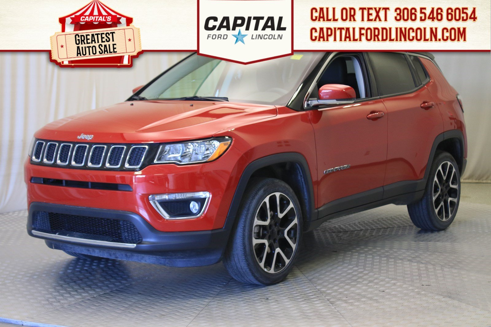 Pre-Owned 2017 Jeep Compass Limited 4WD