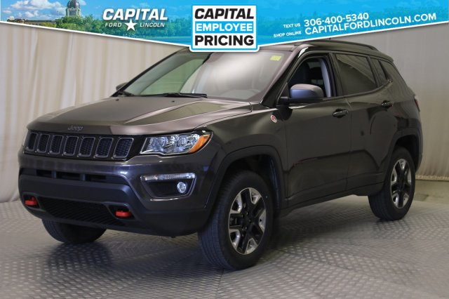 Pre-Owned 2018 Jeep Compass Trailhawk 4x4