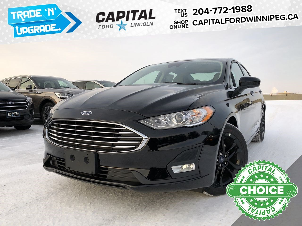 New 2020 Ford Fusion SE*Heated Seats*Reverse Camera*Adaptive Cruise*Navigation