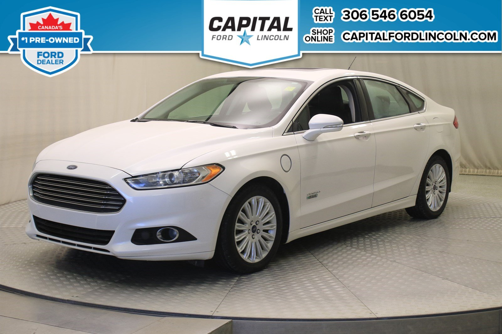 Certified Pre Owned 2017 Ford Fusion Energi Se Luxury Leather Sunroof 105