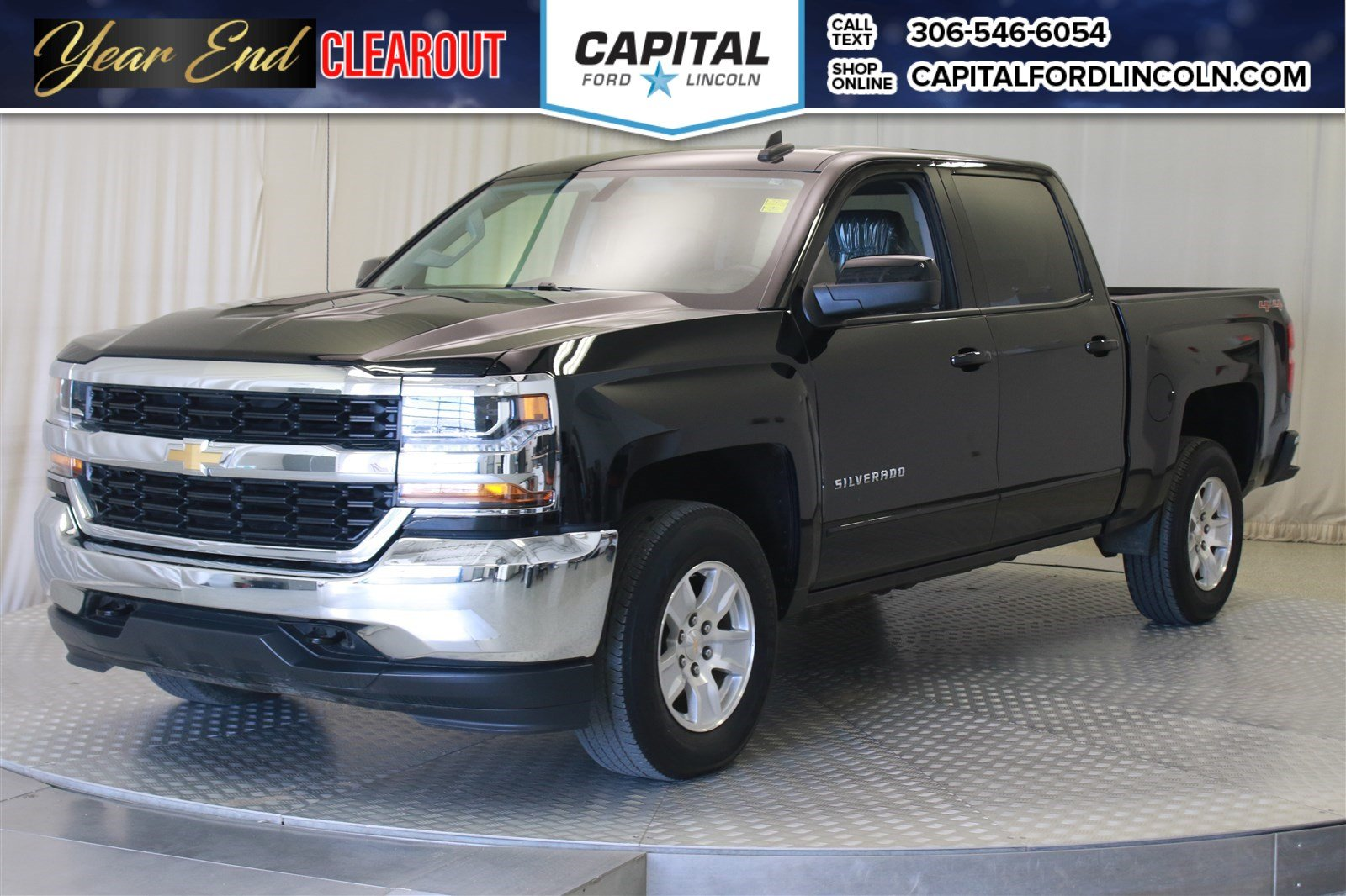 Pre Owned 2017 Chevrolet Silverado 1500 Lt Crew Cab Pickup In Regina
