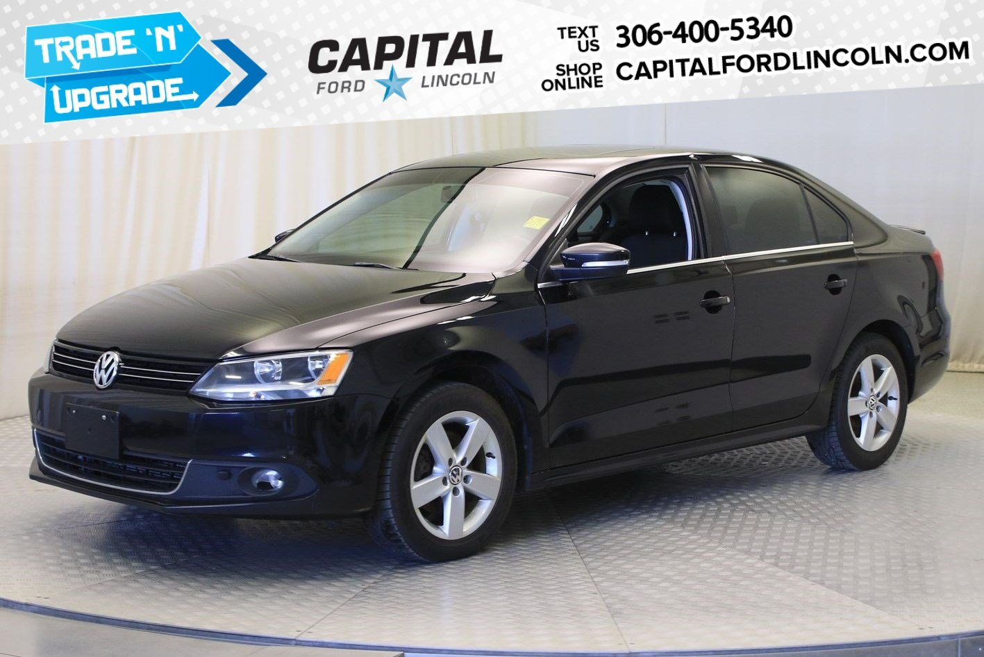 Pre-Owned 2014 Volkswagen Jetta Sedan Comfortline | Diesel | Sunroof |