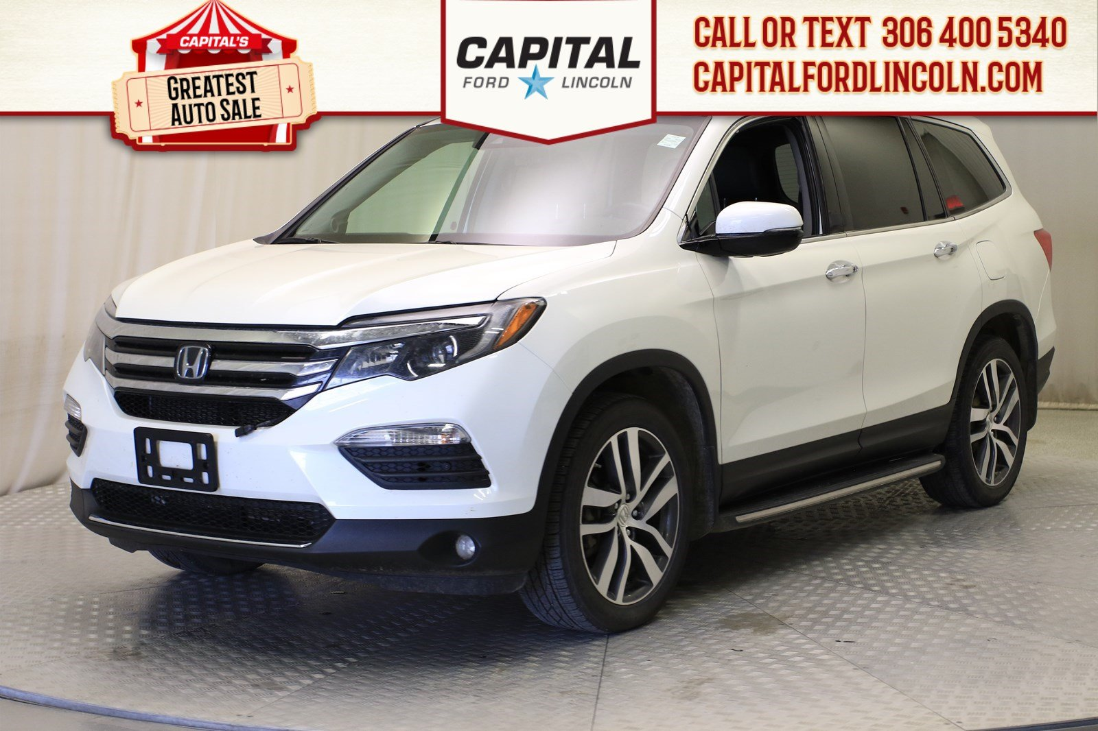 Pre-Owned 2016 Honda Pilot Touring 4WD