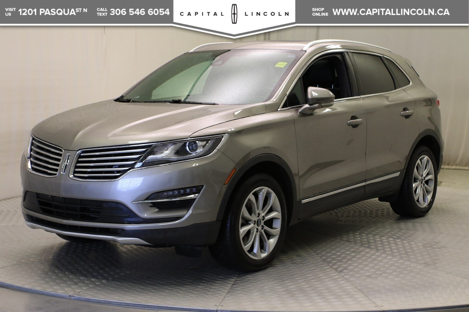 2017 Lincoln Mkc Select >> Pre Owned 2017 Lincoln Mkc Select Awd Awd Stock R1578a