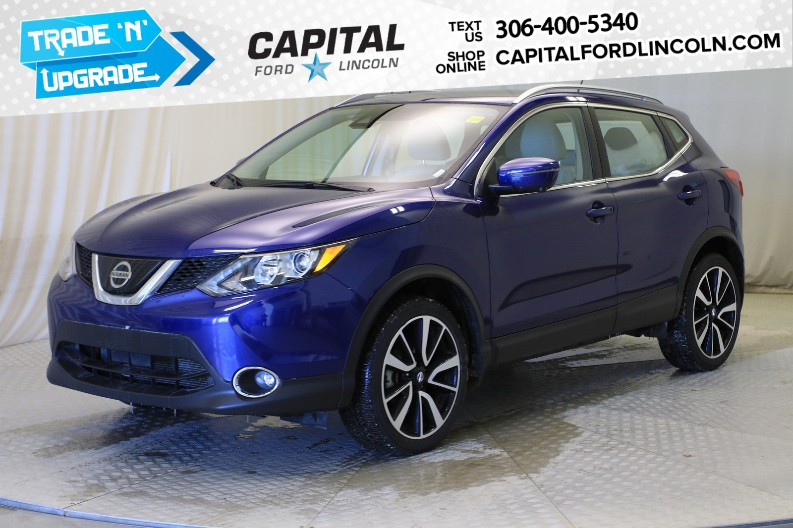 Pre-Owned 2019 Nissan Qashqai SL | Leather | Sunroof | AWD |
