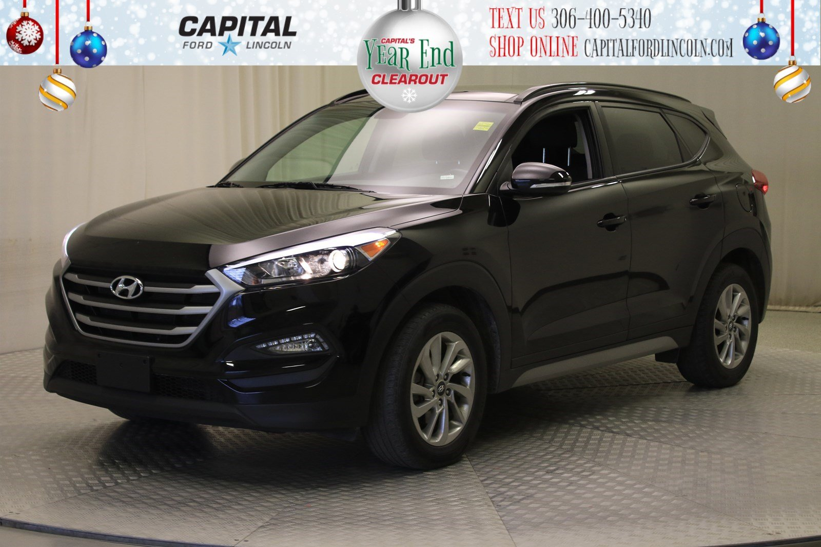 Pre-Owned 2018 Hyundai Tucson Luxury | Sunroof | Leather |