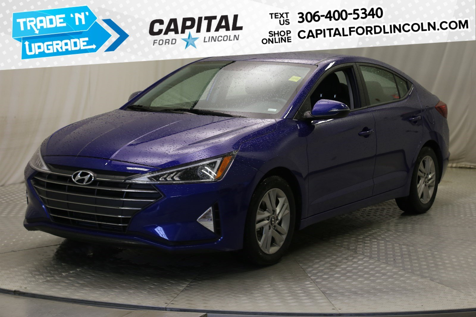 Pre-Owned 2019 Hyundai Elantra Luxury | Sunroof |