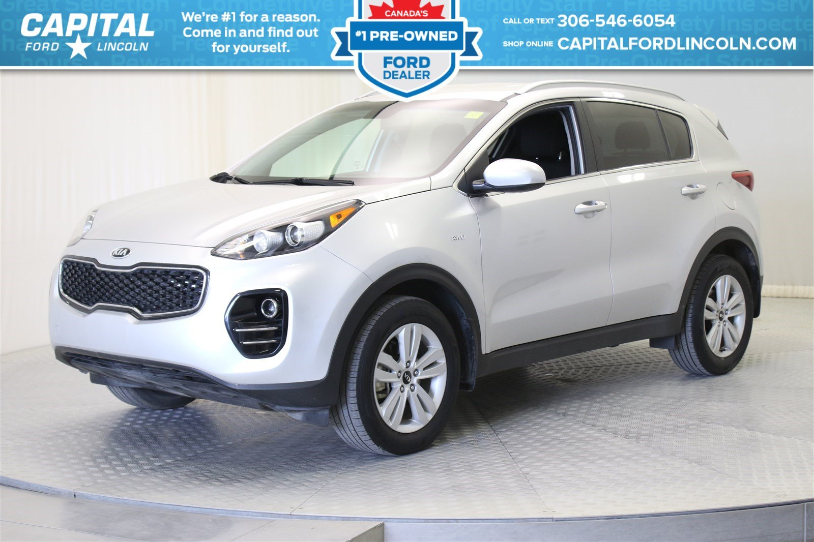 pre owned 2017 kia sportage awd lx suv in regina 87783a capital ford lincoln. Black Bedroom Furniture Sets. Home Design Ideas