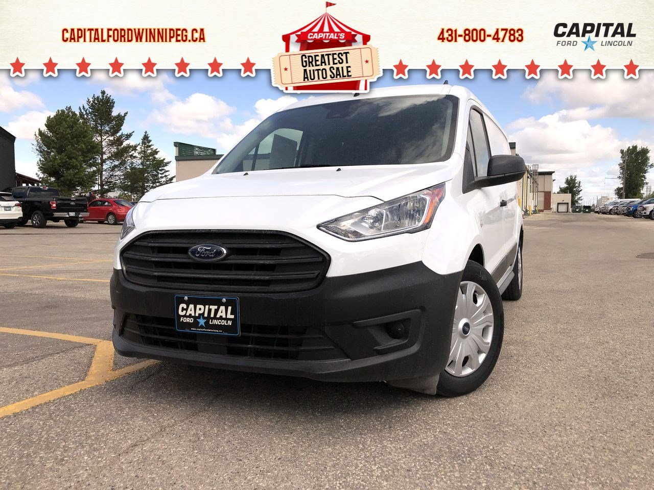 New 2019 Ford Transit Connect Van XL*Cargo Van*Cruise Control*Bluetooth*Rearview Camara