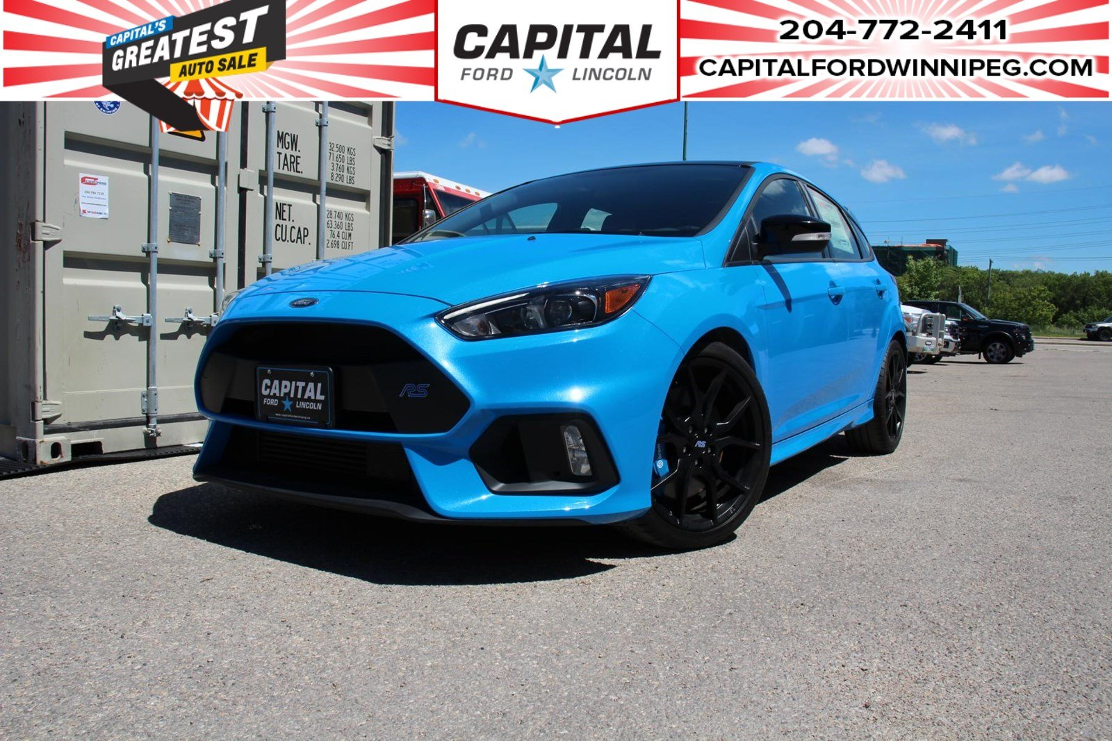 New 2018 Ford Focus RS