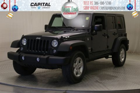 Pre-Owned 2017 Jeep Wrangler Unlimited Convertible