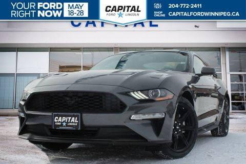 New 2018 Ford Mustang EcoBoost RWD 2 Door Coupe </br> Stock: P1632