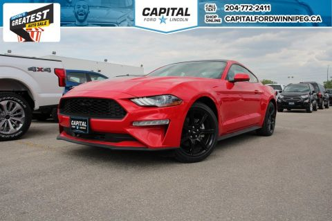 New 2018 Ford Mustang EcoBoost