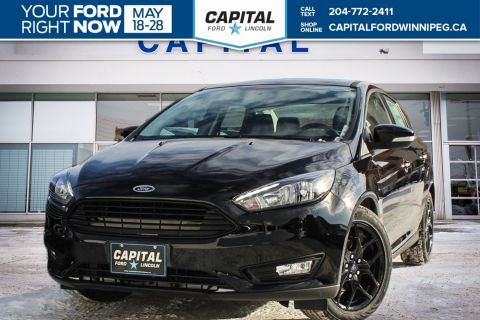 New 2018 Ford Focus SEL FWD 4 Door Sedan </br> Stock: P1737
