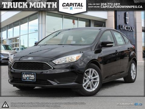 New 2017 Ford Focus SE FWD Hatchback </br> Stock: P1226
