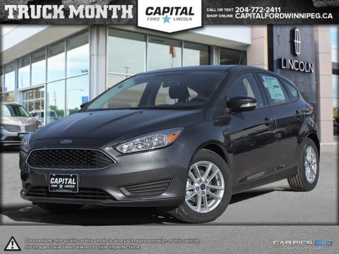 New 2017 Ford Focus SE FWD Hatchback </br> Stock: P0928