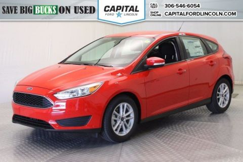 Pre-Owned 2017 Ford Focus SE HB FWD Hatchback </br> Stock: R1438X