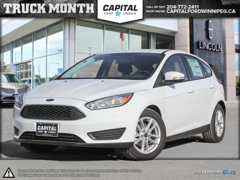 New 2017 Ford Focus SE FWD Hatchback </br> Stock: P1069
