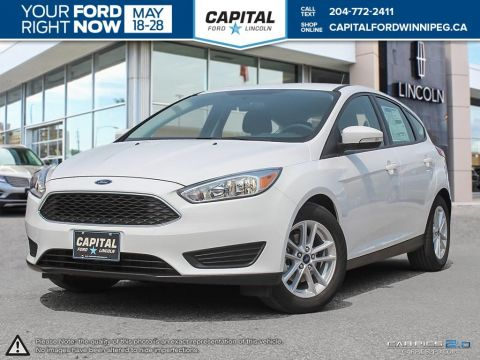 New 2017 Ford Focus SE FWD Hatchback </br> Stock: P1282