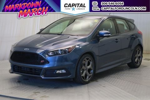 New 2018 Ford Focus ST FWD Hatchback </br> Stock: T466