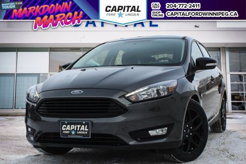 New 2018 Ford Focus SEL FWD Hatchback </br> Stock: P1669