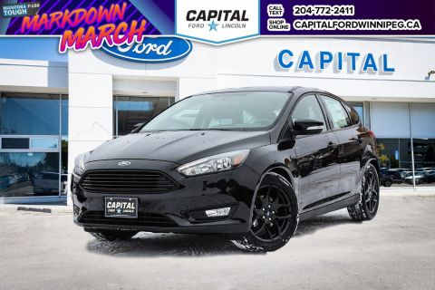 New 2018 Ford Focus SEL FWD Hatchback </br> Stock: P1582