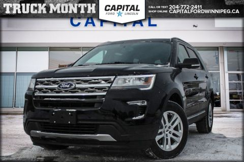 New 2018 Ford Explorer XLT 4WD </br> Stock: P1639