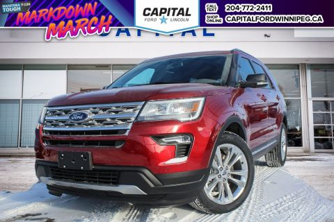 New 2018 Ford Explorer XLT With Navigation & 4WD </br> Stock: P1655