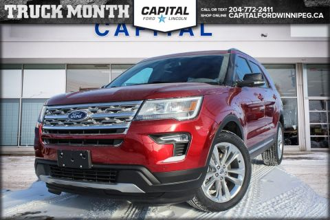 New 2018 Ford Explorer XLT 4WD </br> Stock: P1655