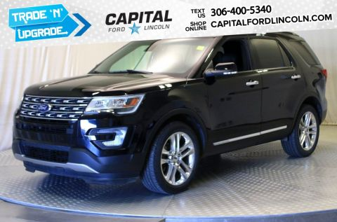 Pre-Owned 2017 Ford Explorer Limited 4WD