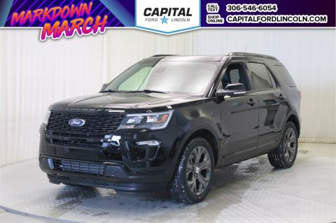 New 2018 Ford Explorer Sport With Navigation & 4WD </br> Stock: T679