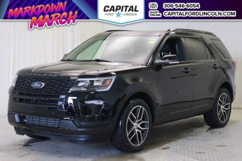 New 2018 Ford Explorer Sport With Navigation & 4WD </br> Stock: T416