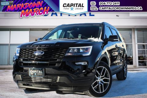 New 2018 Ford Explorer Sport With Navigation & 4WD </br> Stock: P1674