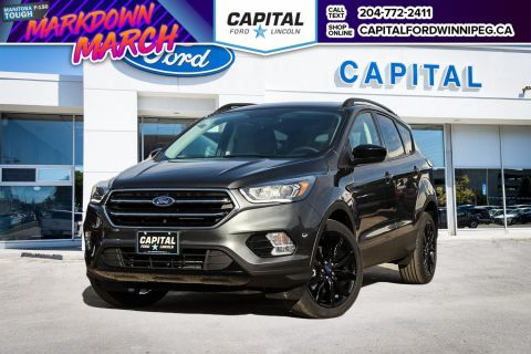 New 2018 Ford Escape SE 4WD </br> Stock: P1491