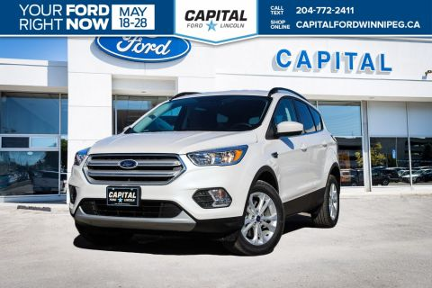 New 2018 Ford Escape SE 4WD </br> Stock: P1488
