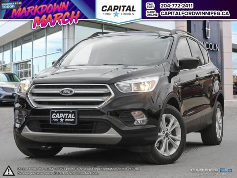 New 2018 Ford Escape SE 4WD </br> Stock: P1436