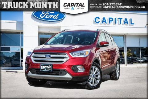 New 2018 Ford Escape Titanium 4WD </br> Stock: P1490