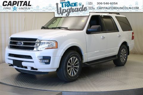 Pre-Owned 2017 Ford Expedition XLT 4WD * Leather * Sunroof * Heated & Cooled Seats *