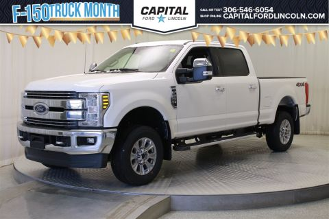 New 2018 Ford F-250 Gas LARIAT 4WD </br> Stock: T354