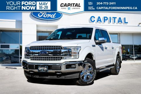 New 2018 Ford F-150 Lariat 4WD </br> Stock: P1428