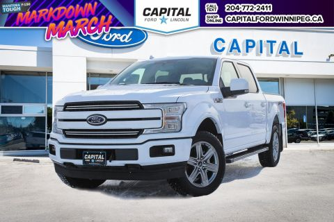 New 2018 Ford F-150 Lariat 4WD </br> Stock: P1412