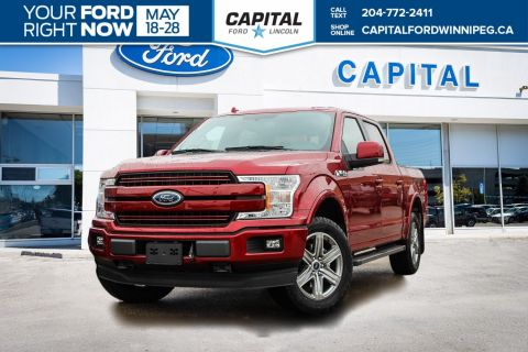 New 2018 Ford F-150 Lariat 4WD </br> Stock: P1429