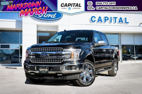 New 2018 Ford F-150 Lariat 4WD </br> Stock: P1430