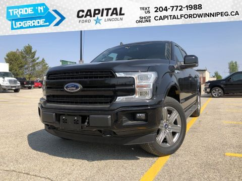 New 2019 Ford F-150 LARIAT*3.0L Diesel*Moonroof*Navigation*FX4