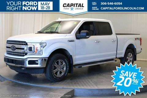 New 2018 Ford F-150 XLT 4WD </br> Stock: T124